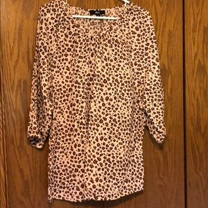 Barely worn tunic length top